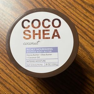 BBW coco Shea body butter NWT